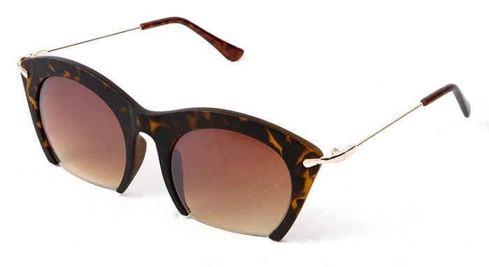 1. oversized γυαλιά ηλίου 1