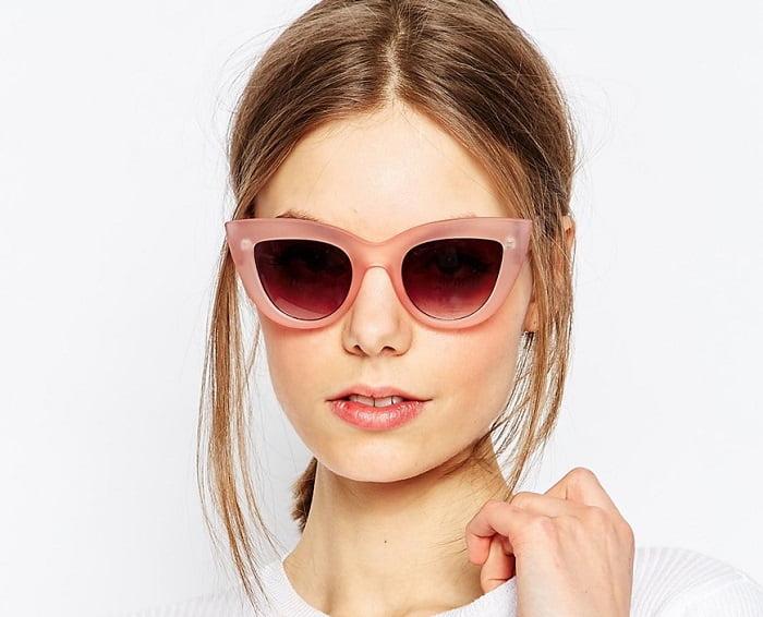 2. cat eye γυαλιά ηλίου 3