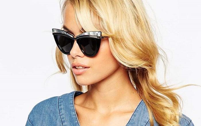 2. cat eye γυαλιά ηλίου 4