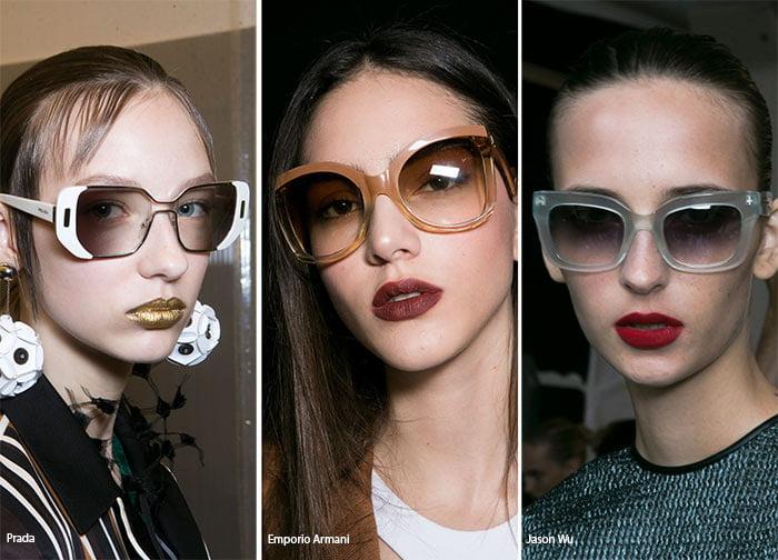 10. γυαλιά ηλίου με ombre φακό