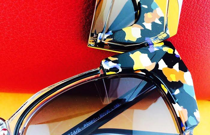 9. γυαλιά ηλίου με colrful frames - colorful lences 1