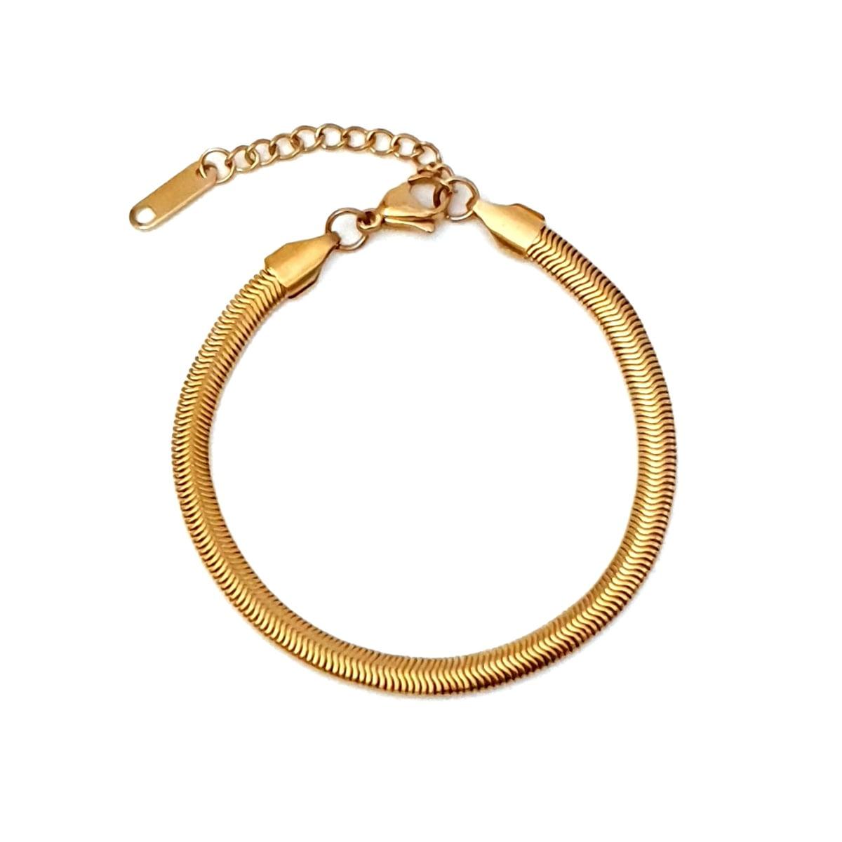 Βραχιόλι snake chain Naomi