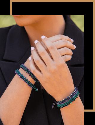 Γυναικεία χειροποιήτα βραχιόλια