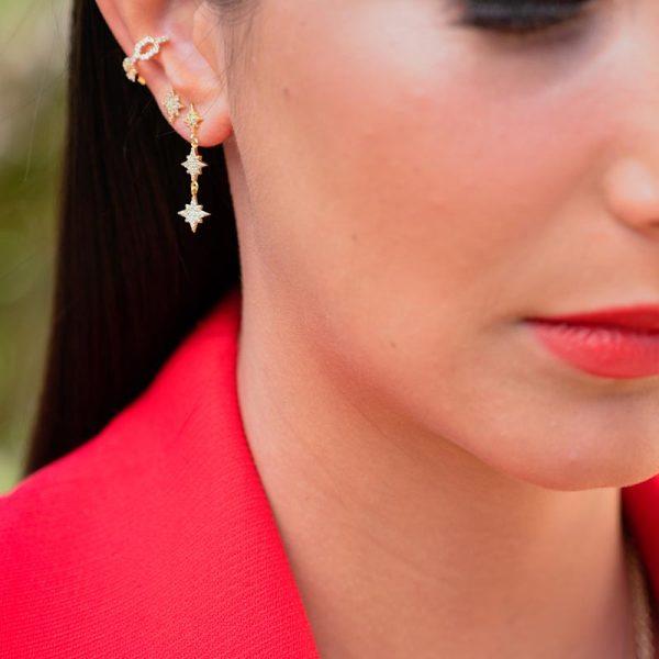 Σετ σκουλαρίκια Claudia
